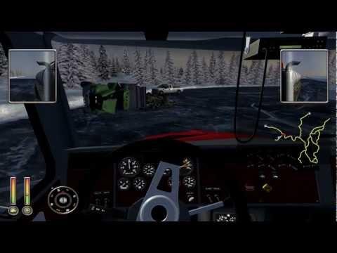 18 Wheels Of Steel Extreme Trucker 2: Ice Road Trucking Pt 2