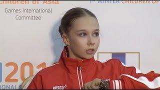 "🥉 Ксения Синицына / Kseniia SINITSYNA - ""Children of Asia Games"" Ladies FS  - 15.02.2019 - Sakhalin"