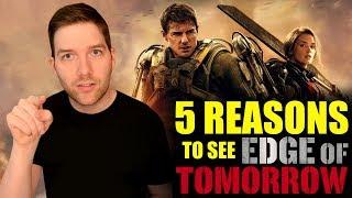 Video 5 Reasons to see Edge of Tomorrow download MP3, 3GP, MP4, WEBM, AVI, FLV Juli 2018