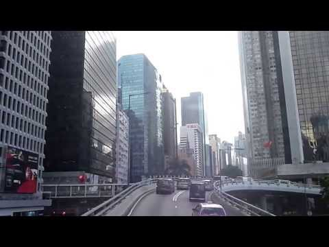 Hong Kong Bus 18: North Point (Healthy Street Central) → Whitty Street (4x speed)