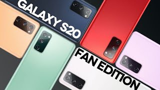 Samsung Galaxy S20 Fan Edition – на ЖИВЫХ фото