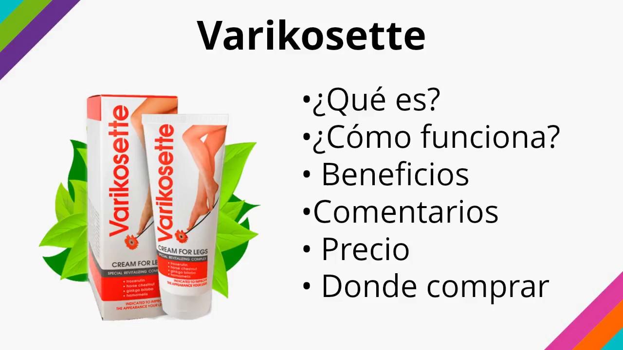 Varikosette - Cómo Funciona y Dónde Comprar - YouTube