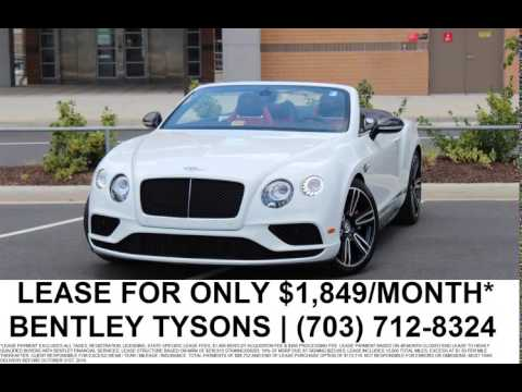 Bentley Continental GTC V S Lease Month Bentley - Bentley continental lease