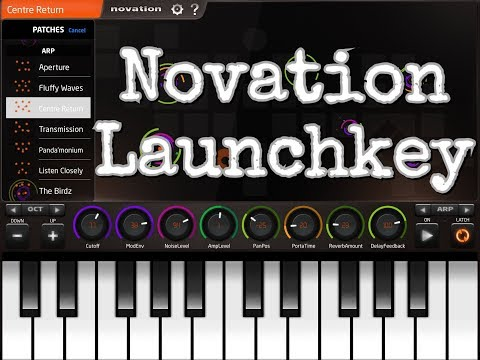Novation Launchkey Synth Revisited - 100% FREE - Demo for The iPad