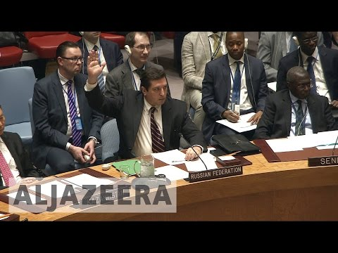Russia vetoes UN resolution on Syria chemical attack