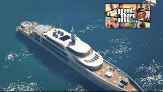 GTA V - Online / Découverte d'un yacht de luxe