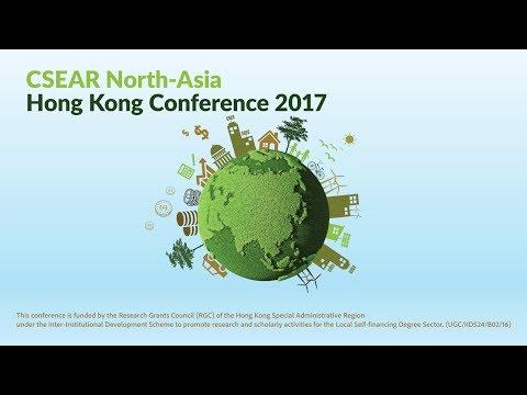 PolyU SPEED CSEAR North-Asia Hong Kong Conference 2017
