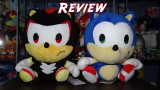 Sonic and Shadow chibi Japan Exclusive plushies Review