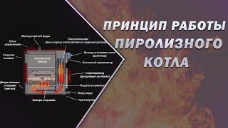видео Принцип работы пиролизного котла
