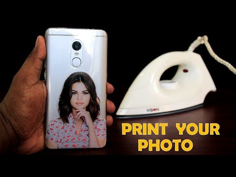 low priced 20b29 c07b4 How to Print Your Favorite Photo on Phone Cover at Home Using ...