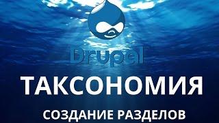 видео Как работать с таксономией в Drupal?