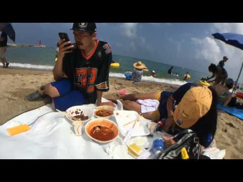 [En] #2 Delivery Chinese food on the beach [EXBC]