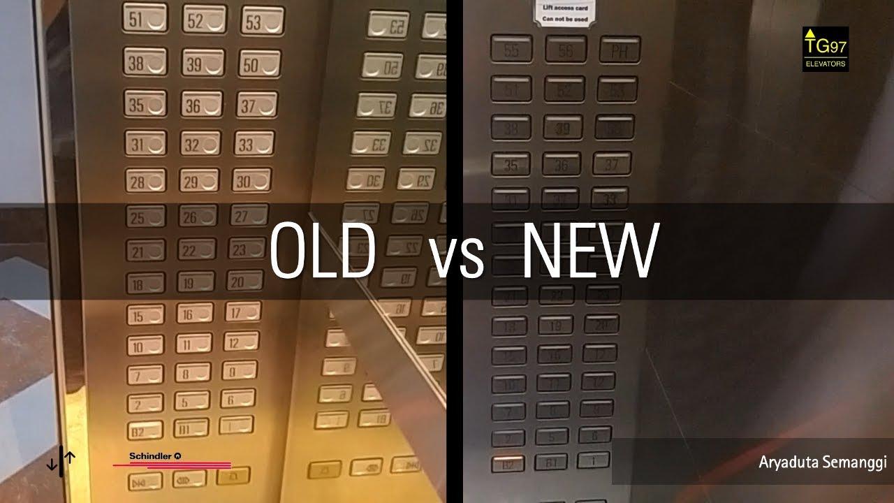 old vs new fast schindler elevators at aryaduta semanggi jakarta rh youtube com Schindler 3300 Elevator Phone Test Schindler 3300 Elevator Phone Test