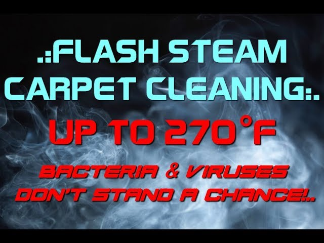Flash Steam Carpet Cleaning San Diego - Truckmount
