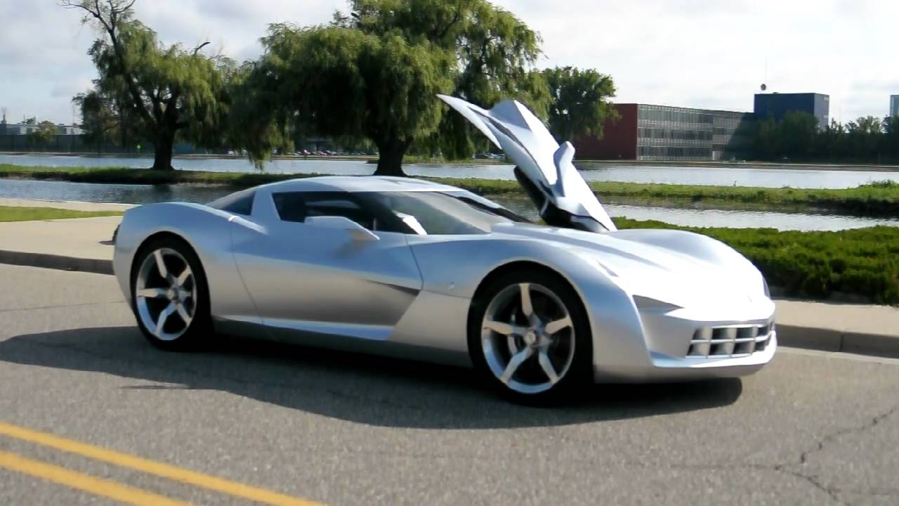 Gm Corvette Stingray Concept Driven And Detailed Youtube