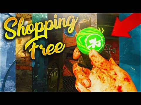 The Best Shopping Free Route on Every Map in Zombies Chronicles! (BO3 Zombies Chronicles Tutorial)