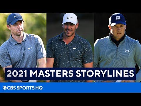 2021 Masters: Storylines, Pick to Win [Brooks Koepka, Jordan Speith] | CBS Sports HQ