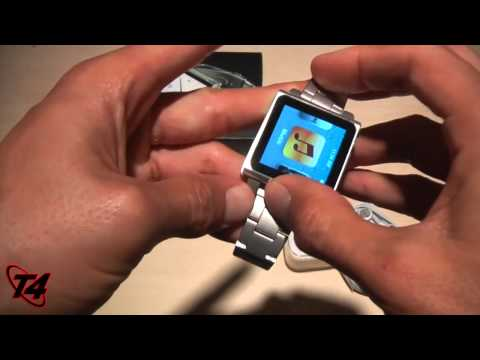 Hex Vision Metal Watchband for 6th Gen iPod Nano-Silver