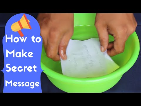 How to Create Secret Message - Easy Way
