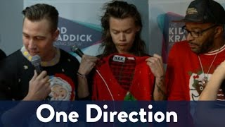 One Direction's Ugly Christmas Sweaters!