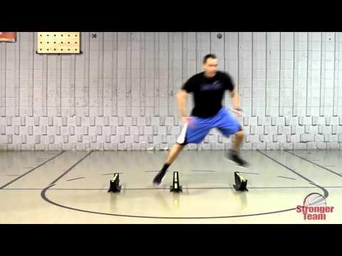 Handball agility and footwork