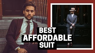 Suit Etiquette: What To Look For When Buying a Suit | BEST Affordable Suit Buying Guide