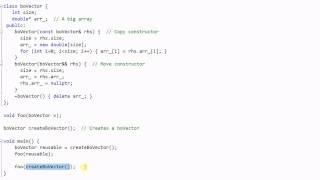 C++ 11: Rvalue Reference -- Move Semantics