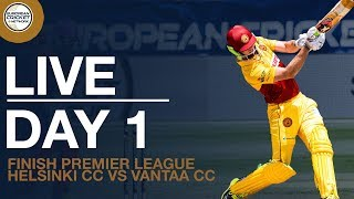 🚨T20 Cricket LIVE Stream | Helsinki CC vs Vantaa CC | Finnish Premier League | 1st June 2020