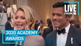 Who Kelly Ripa & Mark Consuelos Are Excited to See at 2020 Oscars | E! Red Carpet & Award Shows