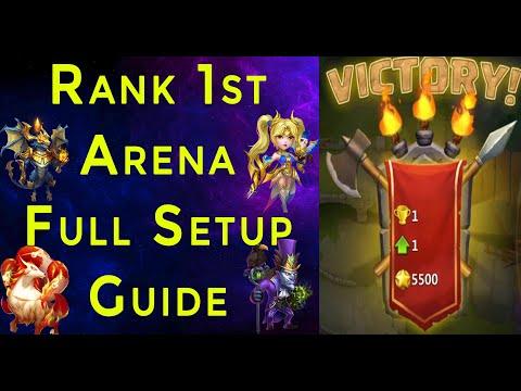Rank 1 In Arena Full Setup Guide Castle Clash