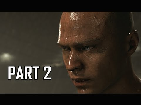 DETROIT BECOME HUMAN Gameplay Walkthrough Part 2 - MARKUS (PS4 Pro 4K Let's Play)