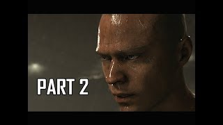 DETROIT BECOME HUMAN Gameplay Walkthrough Part 2 - MARKUS (PS4 Pro 4K Let's Play)