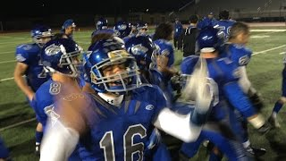Sierra football rolls to first section title