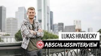 Mach´s gut Lukas! I Abschlussinterview Lukas Hradecky