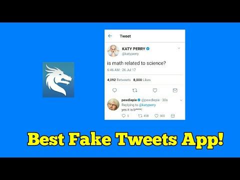 Fake Tweets: The Best Fake Tweets App
