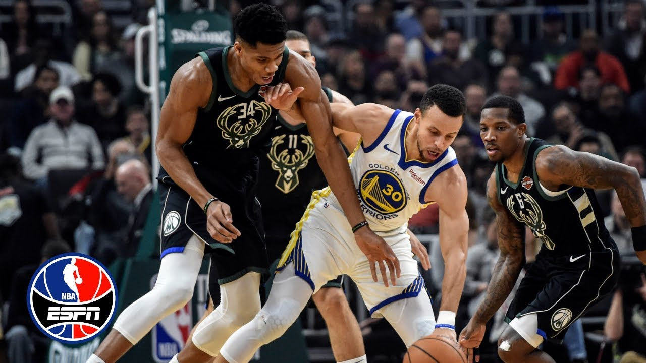 Steph Curry and Klay Thompson combine for 40 points in Warriors' win vs. Bucks   NBA Highlights