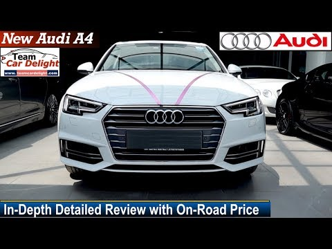 New Audi A4 Detailed Review With On Road Price Features Interior Audi A4 India Youtube
