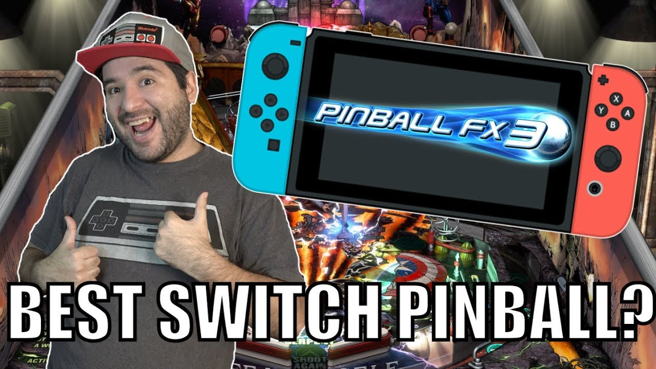 BEST SWITCH PINBALL? - Pinball FX 3 (Nintendo Switch) | 8-Bit Eric