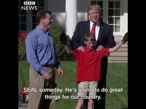 Why Is This 11 Year Old Boy Mowing The White House Lawn For Donald J Trump