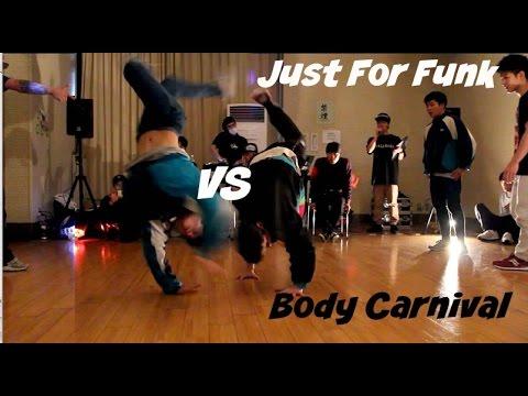 Body Carnival (Japan) Vs Just For Funk (UK). Full Throttle Top 8.