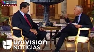 Complete interview of Jorge Ramos to Nicolás Maduro