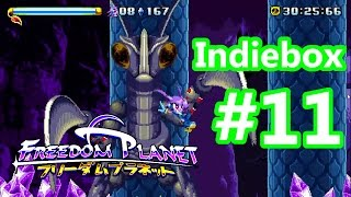Freedom Planet - Indiebox Review #11 [NOT SPONSORED CONTENT]