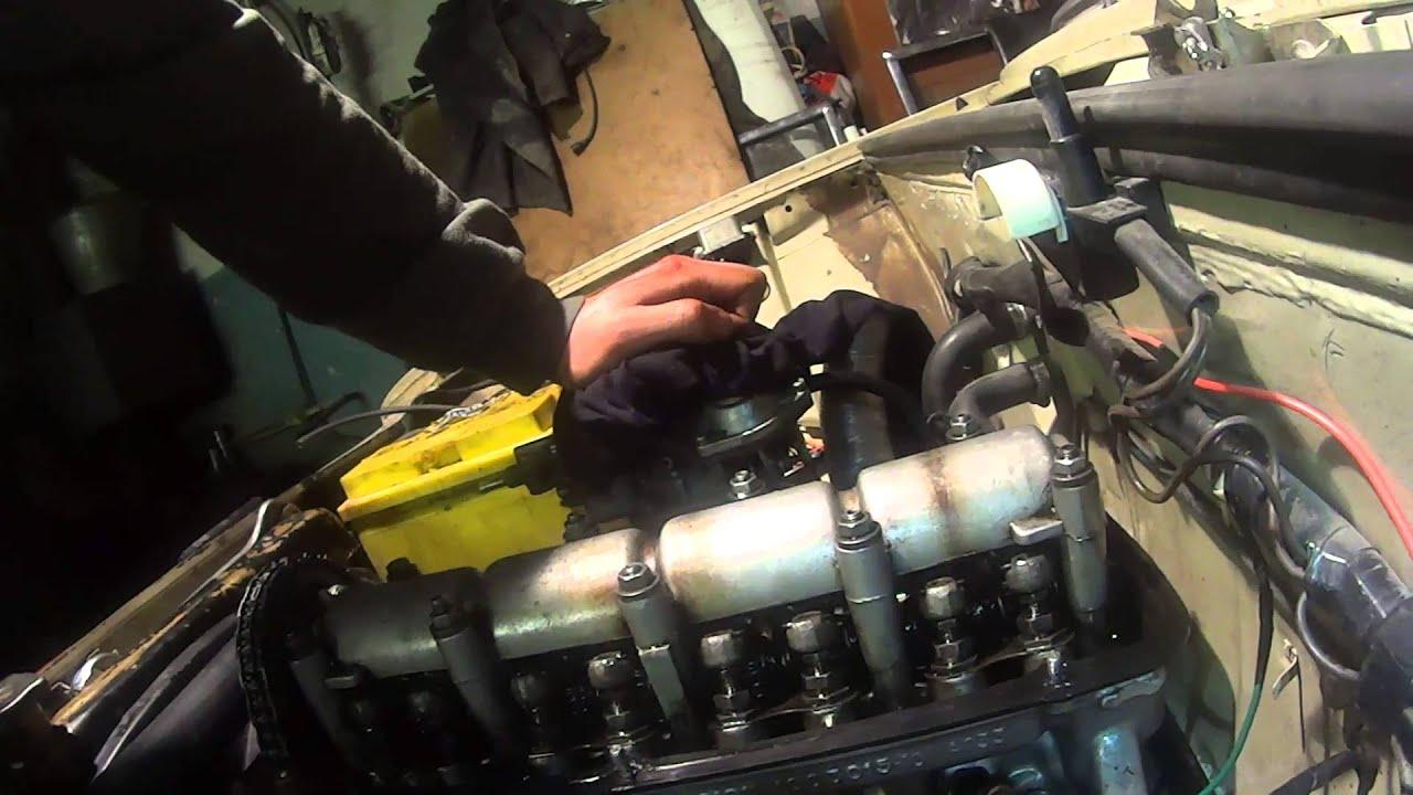 Настройка клапанов на ВАЗ 2101