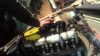 видео Регулировка клапанов ВАЗ 2101