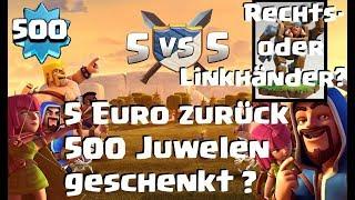 [362] Level 500 Player | 8.5 Dorf | Kampfmaschine rechts oder Linkshänder ? Clash of Clans Deutsch