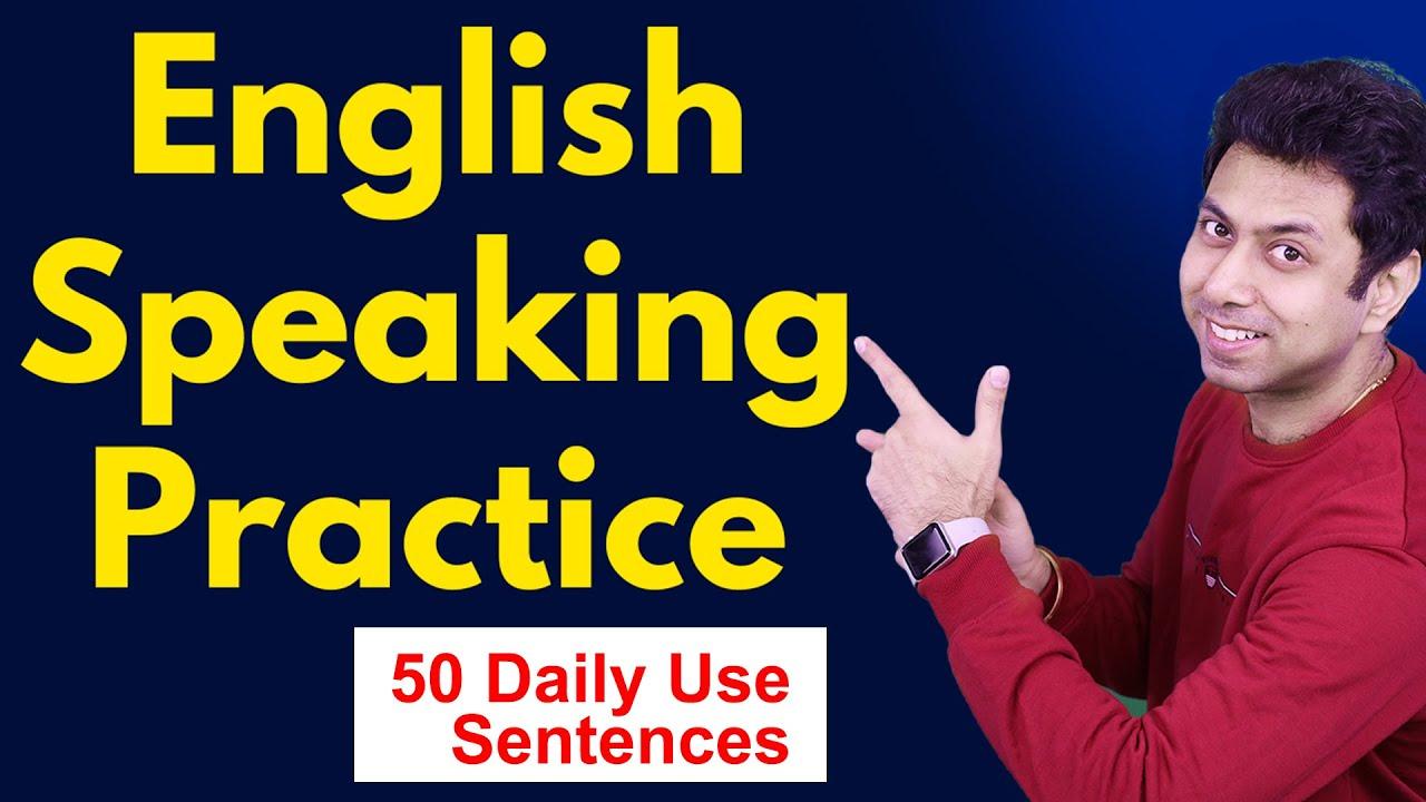 English Speaking Practice | 50 English Sentences | Awal