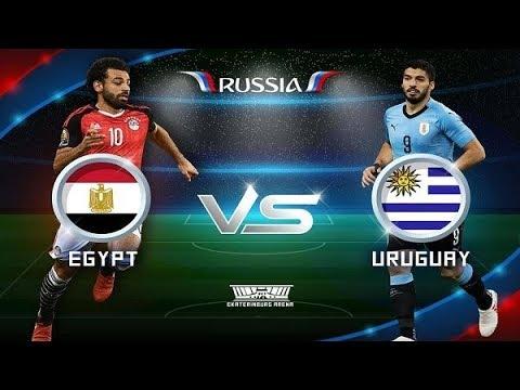 Egypt and Uruguay 0-1 Match Goals & HighLights World Cup 2018