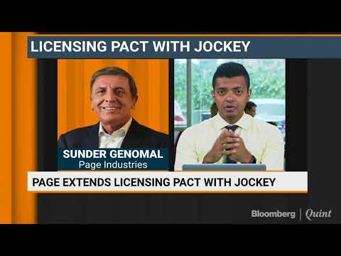 Page Industries Extends Its Licensing Pact With Jockey