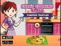 Sara's Cooking Class Pumpkin Truffles Full Gameplay Walkthrough