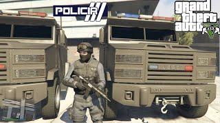 GTA V - PoliceMod 1.0c: SWAT/NOOSE - Operações com blindado